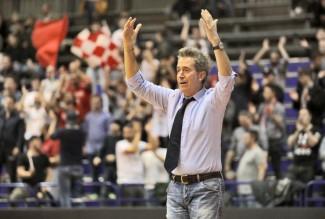 Alessandria-Rimini, post partita con Coach Massimo Bernardi
