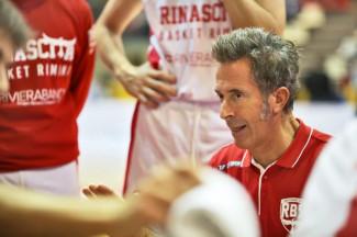 Fortitudo Alessandria-RivieraBanca Basket Rimini, prepartita con Coach Massimo Bernardi