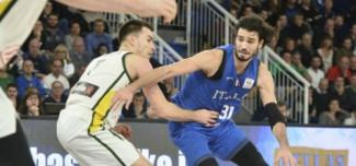 Nazionale A maschile - EuroBasket 2022 Qualifiers. Italia-Estonia 101-105 dts (24 M. Vitali).