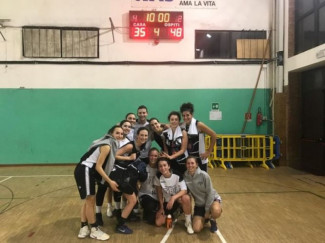 Pall. Budrio 2012  vs Faenza Project Girls  35  - 48