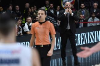 18° giornata LBA, le dichiarazioni di Coach Djordjevic alla vigilia della trasferta di Roma