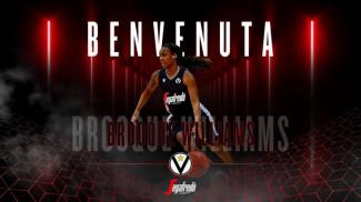 Brooque Williams è una nuova giocatrice della Virtus Segafredo Bologna