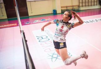"""Sophie Andrea Blasi : """" La Pallavolo è parte essenziale nella mia vita """""""