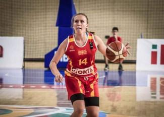 Pallacanestro Vigarano 2008 : Ecco l'ottava giocatrice l'ala piccola  macedone Matea Atanasovska