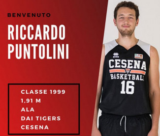 Riccardo Puntolini è il primo acquisto 2019-2020 della Curti Imola