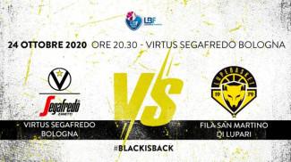 LBF, 5° giornata: Virtus Segafredo Bologna vs Fila San Martino di Lupari