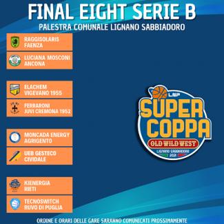 Super Coppa LNP 2021 Serie B - Così il terzo turno