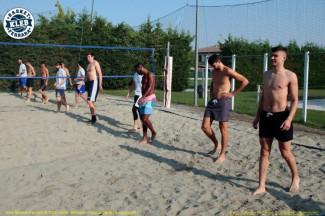 Kleb Basket Ferrara Top Secret,mattinata in piscina e sulla sabbia al Cus Ferrara