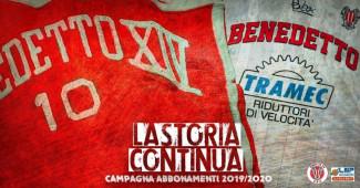 Benedetto XIV: domenica al Palasavena contro Chieti si chiude la campagna abbonamenti.