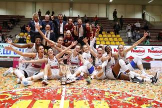 FIP : Umana Reyer Venezia vince la Supercoppa Italiana e Parking Graf Basket Team Crema si aggiudica la Coppa Italia di A2