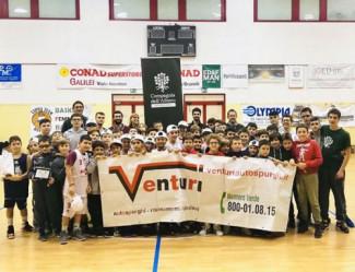 V torneo Venturi: divertimento e fair play a canestro!