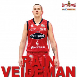 Rain Veideman torna alla Pallacanestro Mantovana