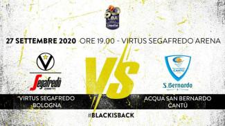 LBA, 1° giornata: Virtus Segafredo Bologna vs Acqua S.Bernardo Cantù