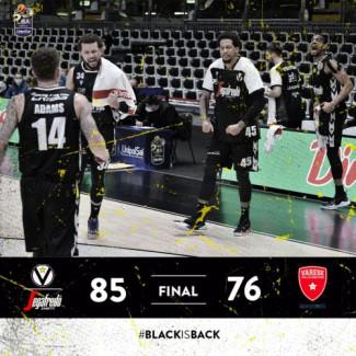 Virtus Segafredo BO vs Openjobmetis Varese: 85  - 76