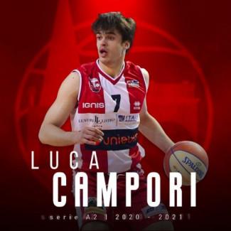 Pallacanestro Forlì 2.015 Unieuro :Luca Campori rimane a Forlì
