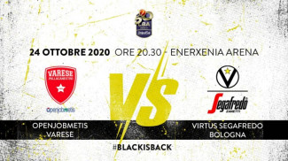 LBA, 5° giornata: Openjobmetis Varese vs Virtus Segafredo Bologna