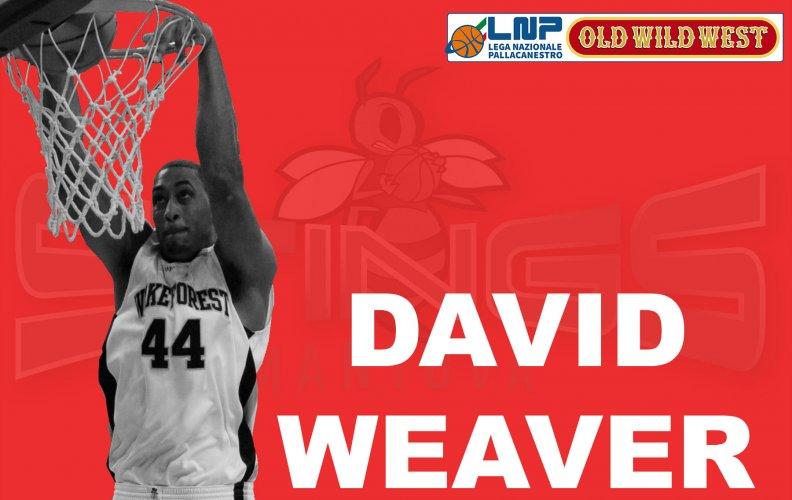 Pallacanestro Mantovana : Firmato il centro statunitense  David Weaver !!!