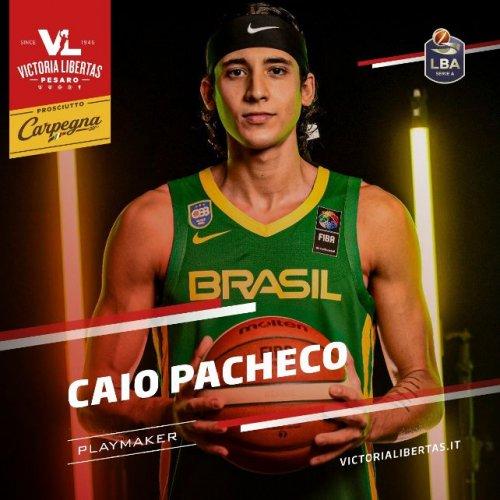 Caio Pacheco è il nuovo play della Carpegna Prosciutto Basket Pesaro!