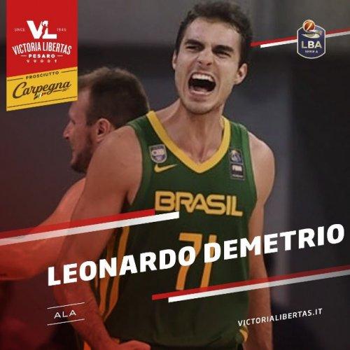 La Carpegna Prosciutto Basket Pesaro ingaggia Leonardo Demetrio!