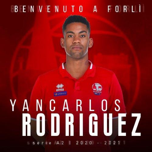 Pallacanestro  2.015 Unieuro Forlì :Yancarlos Rodriguez è un giocatore di Forlì