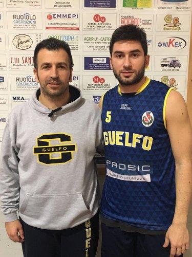 Colpo Guelfo Basket, firma Fabio Bastioni