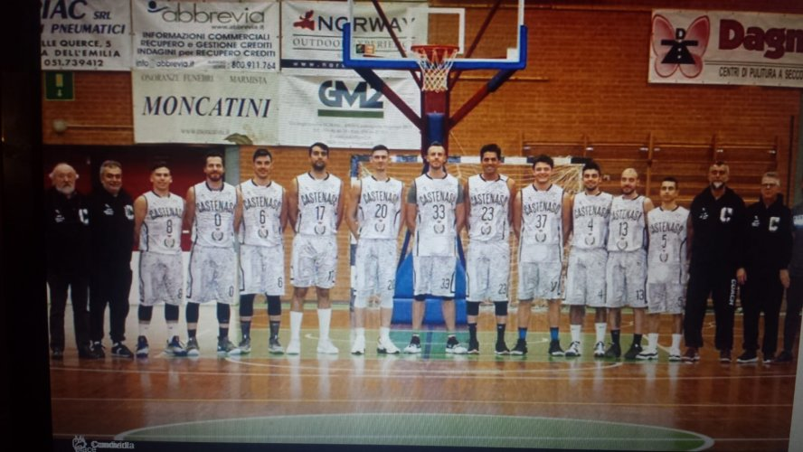Play out Gara 1 - CVD Basket Club Caslecchio di Reno vs Pall. Castenaso 62 -66