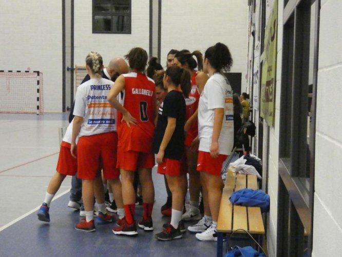 Virtus Casalgrande VS Lattegra Basket Borgonovo  24  - 48