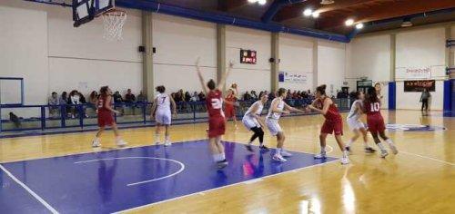 Olimpia Basket Pesaro  vs Basket Girls Ancona  47 - 58