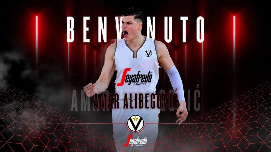 Alibegovic è un giocatore della Virtus Segafredo Bologna