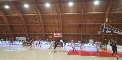 La Luciana Mosconi Ancona cade a Teramo
