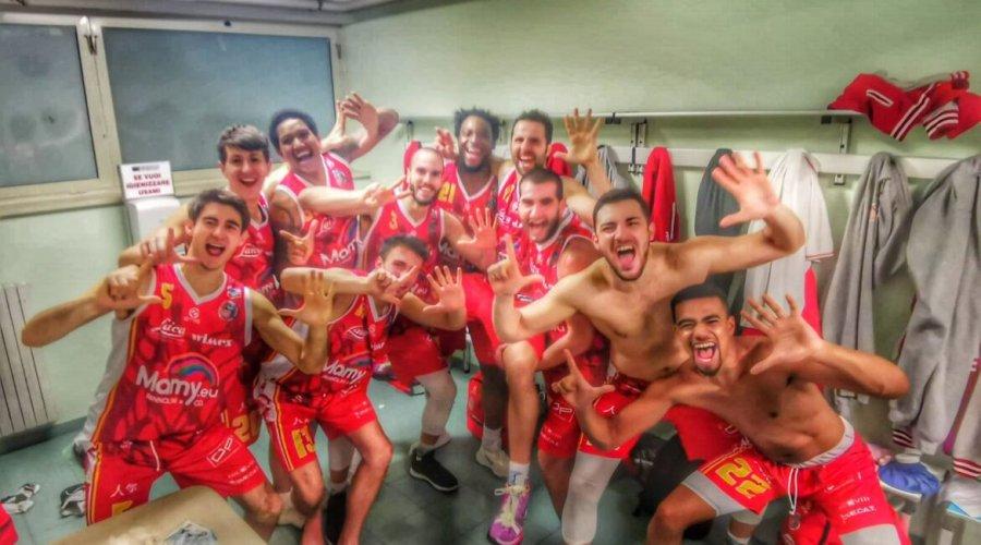 Andrea Costa Imola Basket– Oleggio Magic Basket: 77-94(30-25; 43-58; 63-75)