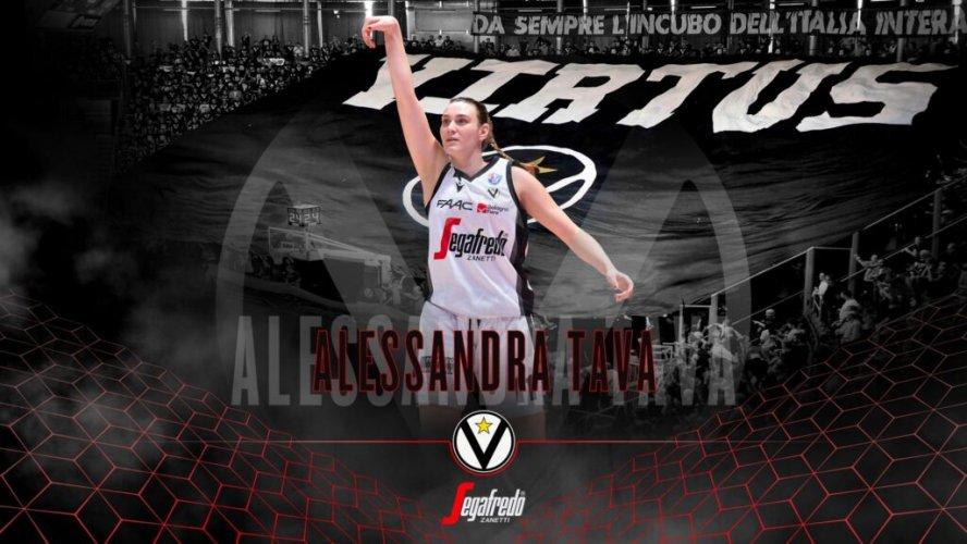 Virtus Segafredo Bologna : Alessandra Tava rinnova con le V Nere