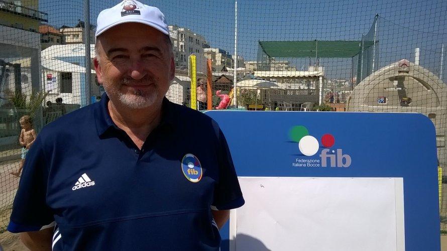 Cattolica ,New Beach Bocce intervista al Consigliere FIB Gregorio Gregori