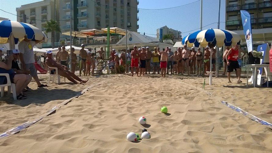 Beach Bocce: tutte le undici tappe del 1° Trofeo Cattolica Beach Bocce
