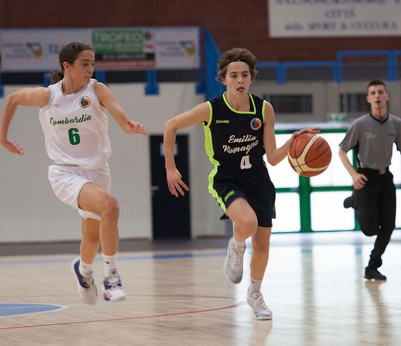 Basket -Trofeo delle Regioni, doppio k.o. per l'Emilia-Romagna