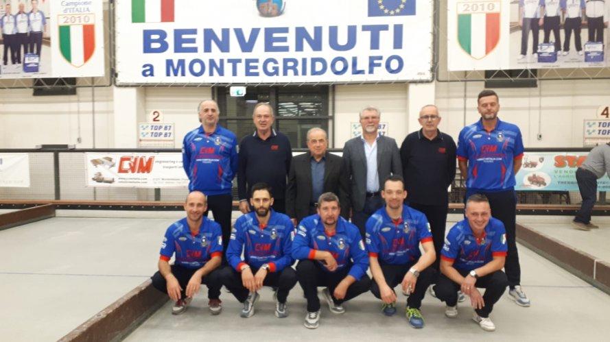 Bocce Serie A 2020 : Cagliari-CVM Moving System Montegridolfo