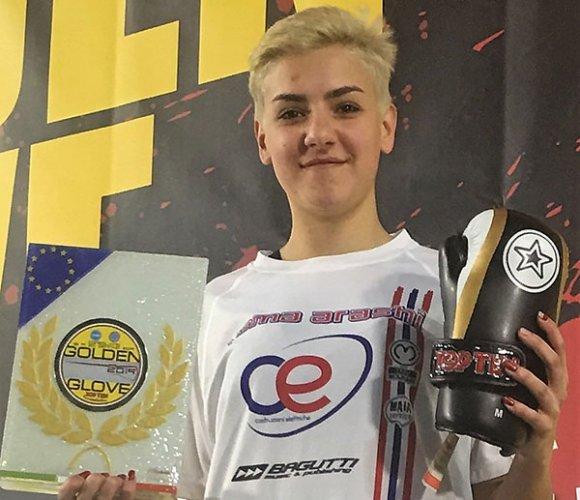 Kick Boxing, la stella di Camilla Marenghi (C.E. Yama Arashi) brilla al Golden Glove di Conegliano