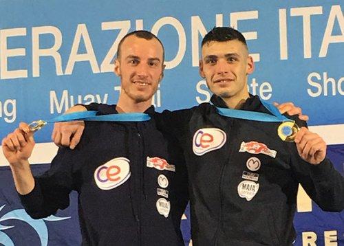 Kick Boxing, Michael Centonze e Ivan Ficcaglia (C.E. Yama Arashi) si impongono a Riccione