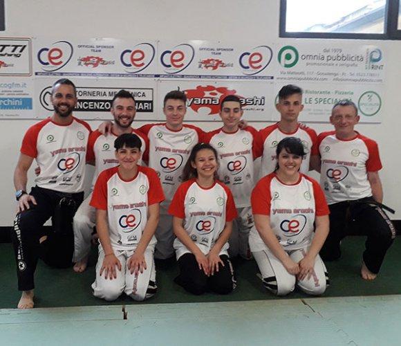 Kick boxing, parte la missione-tricolore per la C.E. Yama Arashi