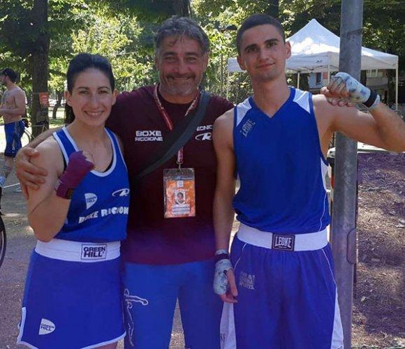 Boxe Polisportiva Riccione a Ferrara: Erica Montalbini pareggia ancora con l'ex campionessa italiana Dorota Kusiak