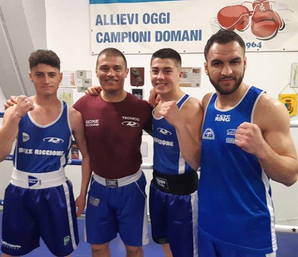 Due importanti appuntamenti nel fine settimana per i pugili della sezione Boxe Polisportiva Riccione