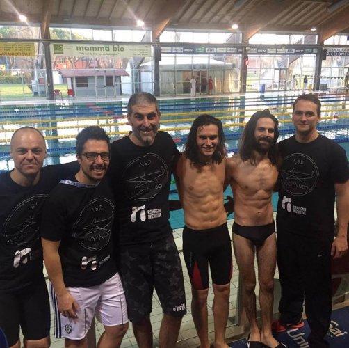 L' ASD Nuotando Master al 15° Trofeo Città di Riccione