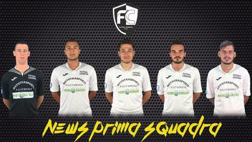 Futsal Cesena, la presentazione di 5 atleti