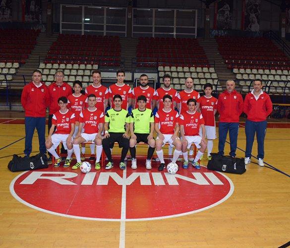 Calcio a cinque rimini.com vs Santa sofia 3-3