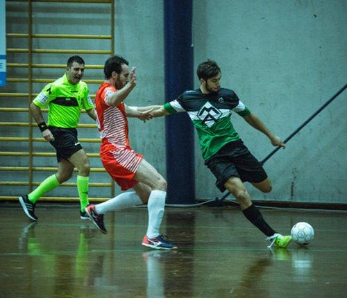 IC Futsal vs Italservice Pesaro 2-4 (2-1 p.t.)