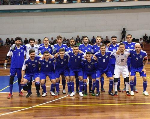 Nazionale sammarinese Futsal da favola: 6-1 a Gibilterra