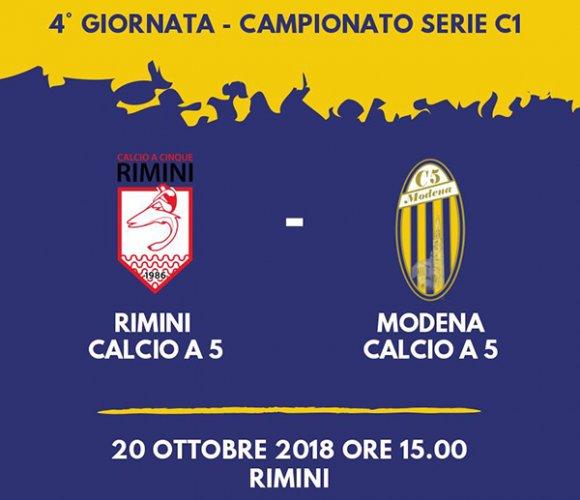 Pre gara Rimini vs Modena Calcio a5