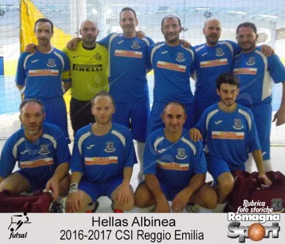 FOTO STORICHE - Hellas Albinea 2016-17