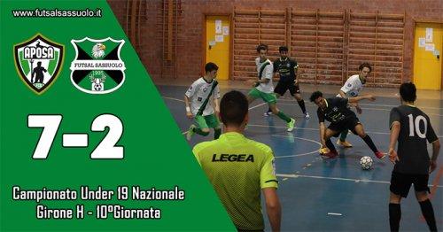 Aposa – Futsal Sassuolo: 7-2