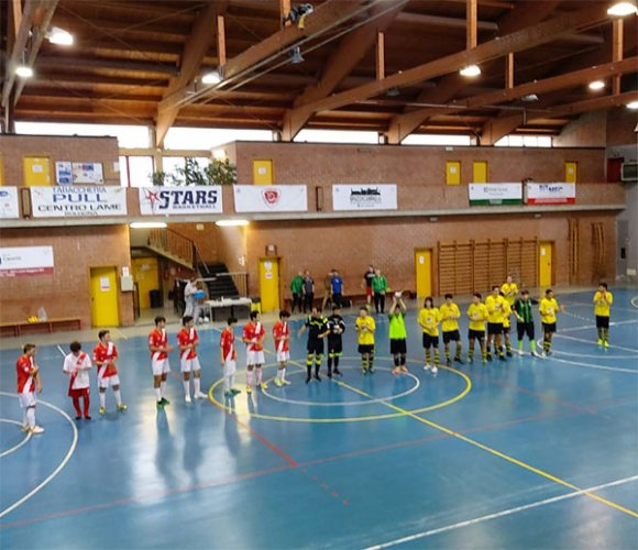 Under 19, Aposa FCD vs  Kaos Futsal 16-0 (p.t. 11-0)